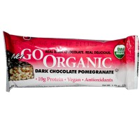 Nugo Dark Chocolate Pomegranate Bar (12x50 GM)