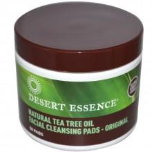 Desert Essence Tea Tree Cleansing Pads (1x50 Pads)