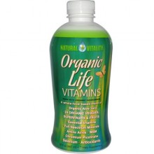 Natural Vitality Life Vitamins (1x30 Oz)