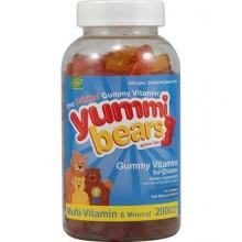 Hero Nutritionals Yummi Bears Multi Vitamin & Mineral (1x200BEARS)