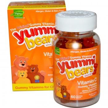 Hero Nutritionals Yummi Bears Vitamin C (1x60 BEARS)