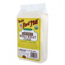 Bob's Red Mill Org Hard White Whole Wheat Flour (4x5lb)