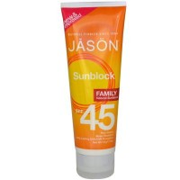 Jason's Sunscreen Family Size Spf45 (1x4 Oz)