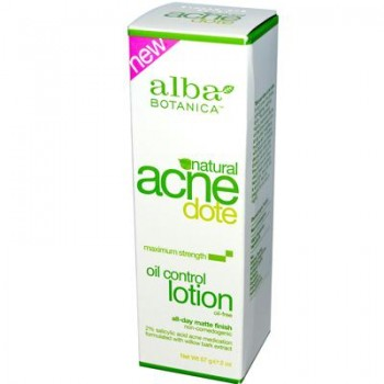 Alba Botanica Acnedote Oil Control Natural Lotion (1x2 Oz)