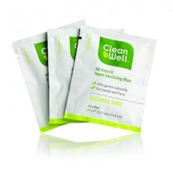 Cleanwell Hand Sanitizing Individual Wipe (1x40 CT)