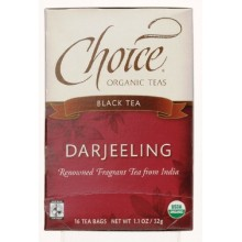 Choice Organic Teas Darjeeling (6x16 Bag)