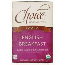 Choice Organic Teas English Breakfast (6x16 Bag)
