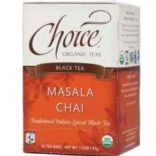 Choice Organic Teas Masala Chai (6x16 Bag)