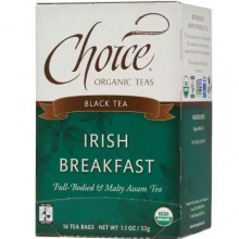 Choice Organic Teas Irish Breakfast Tea (6x16 Bag)