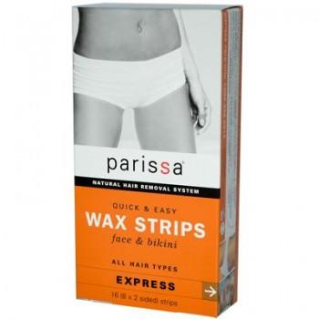 Parissa Face and Bikini Wax Strips (1x16 ct)