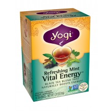 Yogi Organic Refreshing Mint Vital Energy (6x16 Bag)