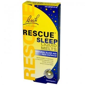 Bach's Rescue Remedy Sleep Liquid Melts (28 Cap)
