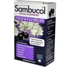 Sambucol Sambucol Black Elderberry Cold & Flu (1x30 TAB)