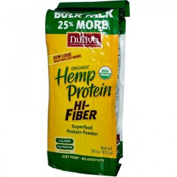 Nutiva Hemp Protein Plus Fiber (1x30 Oz)