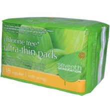 Seventh Generation Ultra Thin Regular Pads (12x18 CT)