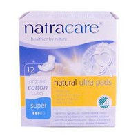 Natracare Super Ultra Pads With Wings (1x12 CT)