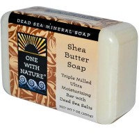 One With Nature Shea Butter Dead Sea Soap (1x7 Oz)