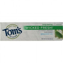 Tom's Of Maine Wicked Fresh! Spearmint Ice Toothpaste (6x4.7 Oz)