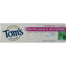 Tom's Of Maine Peppermint, Tartar Control+Whitening Toothepaste (6x5.5 Oz)