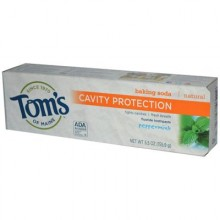 Tom's Of Maine Peppermint Baking Soda Toothpaste with Fluoride (6x5.5 Oz)