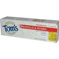 Tom's Of Maine Fennel Fluoride Free with Propolis & Myrrh Toothpaste (6x5.5 Oz)