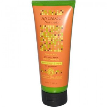 Andalou Naturals Moisture Rich Sweet Orange & Argan Styling Cream (1x6.8 Oz)