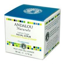 Andalou Naturals Lemon Sugar Facial Scrub (1x1.7 Oz)