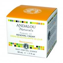 Andalou Naturals Probiotic + C Renewal Cream (1x1.7 Oz)