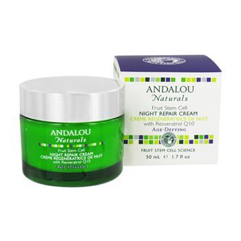 Andalou Naturals Fruit Stem Cell Night Repair Cream (1x1.7 Oz)