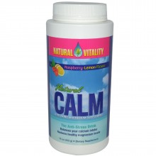 Natural Vitality Calm Raspberry Lemon (1x16 Oz)