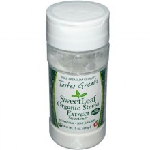 Sweet Leaf Organic White Stevia Powder (1x.9 Oz)