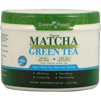 Green Foods Matcha Green Tea (1x5.5 Oz)