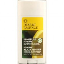 Desert Essence Lemon Tea Tree Deodorant (1x2.5 Oz)
