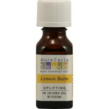 Aura Cacia Essential Lemon Balm In Jojoba Oil (1x.5 Oz)