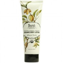 Nourish Organic Almond Vanilla Body Lotion (1x8 Oz)
