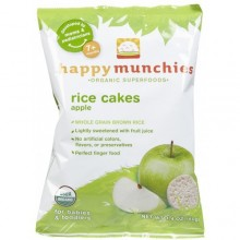 Happy Munchies Apple Rice Cakes (10x1.4 Oz)
