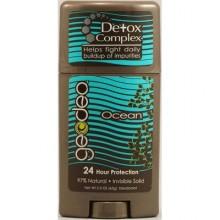 Geo-Deo Natural Deodorant Stick with Detox Complex Ocean (1x2.3 Oz)