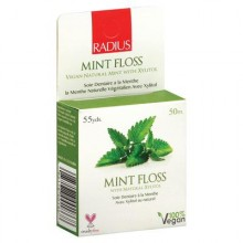 Radius Dental Floss Sachet Xylitol Mint (6x55 YD)