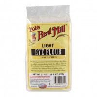 Bob's Red Mill Flr Lite Rye Unblch (4x22OZ )