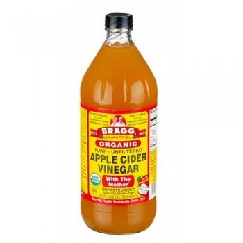 Bragg Liquid Aminos Org Raw Unsweetened Apple Cider Vinegar (12x32 Oz)
