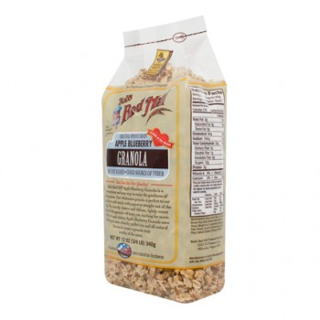 Bob's Red Mill Apple BlueBerry Granola Nf (4x12OZ )