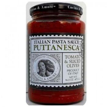 Cucina & Amore Puttanesca Sauce (6x16.8OZ )