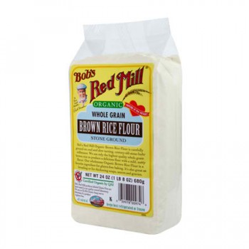 Bob's Red Mill Brn Rice Flour (4x24OZ )