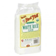 Bob's Red Mill White Rice Flr (4x24OZ )