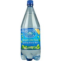 Crystal Geyser Mineral Water Lime (6x4Pack )