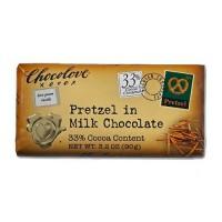 Chocolove Pretzel Milk Chocolate (12x2.9OZ )