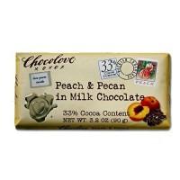 Chocolove Pch/Pcn Milk Chocolate (12x3.1OZ )