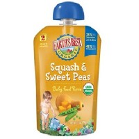 Earth's Best Baby Foods Puree Sqsh/Swtpea (12x3.5OZ )