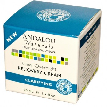 Andalou Naturals Clear Night Recovery Creme (1x1.7OZ )