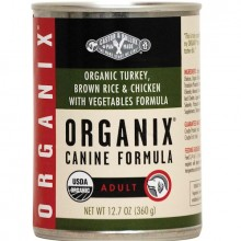 Castor & Pollux Org Turkey/Veg Dog (12x12.7OZ )